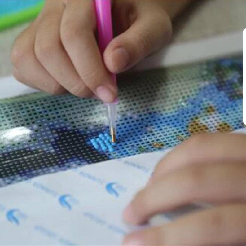 US SELLER 40cm X 30cm 5D DIY Diamond Painting Kit Full Round Drill The Dazzling E633 Cross Stitch Rhinestone Diamond Embroidery