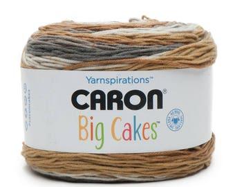 Caron Big Cakes Yarn - Tiramisu