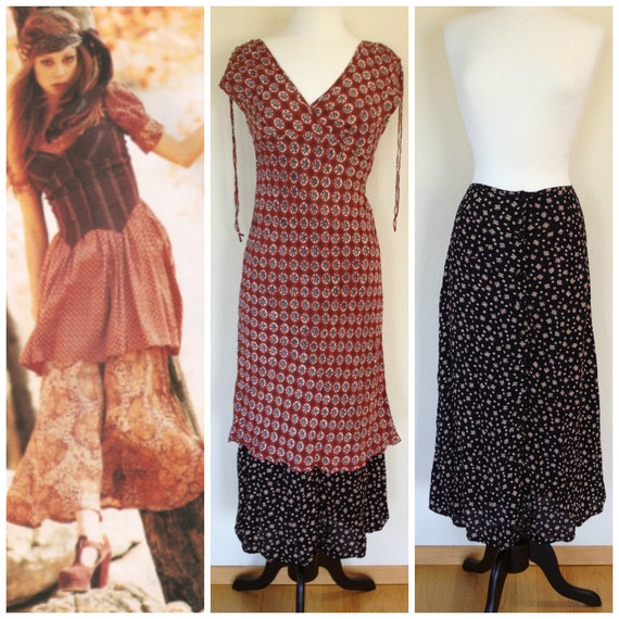 90s Vintage Rampage Midi Dress