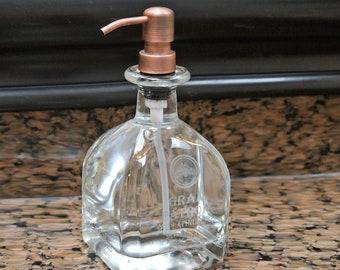 Gran Patron Platinum Pump Soap Dispenser / Tequila Bottle / Husband Gift / Elegant in your bathroom or kitchen / Dish Soap Hand Soap