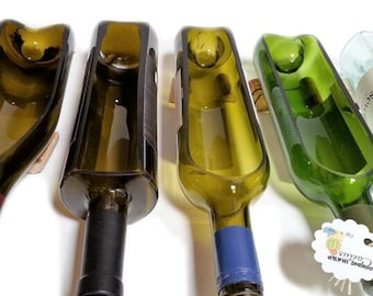 1 Wine Bottle Planter / Wine Gifts / Wine Bottle Decor / Indoor Plants / Succulent Glass Terrarium / Indoor Herb Garden Alcohol Gifts