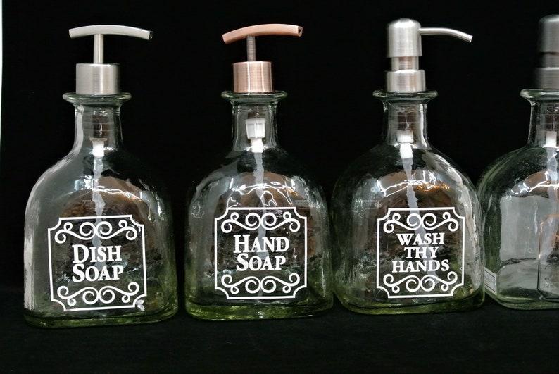 acec16df96d5 1 Patron Pump Soap Dispenser / Gift / Patron Bottle / Dish Soap / Tequila  Gifts / Recycled Patron / Glass Soap Dispensers / Bathroom Kitchen