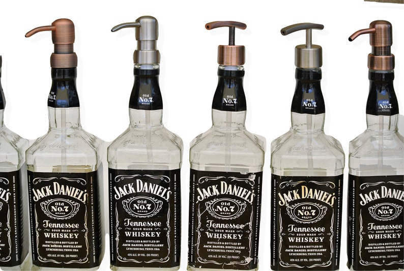 20% Off Jack Daniels Whiskey Soap Dispenser   Whiskey Gifts for Dad ... 0e6e3654a
