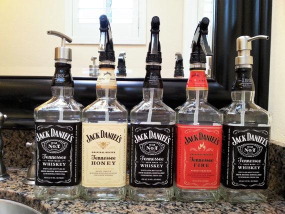 Klarlack Jack Daniels Whiskey Seifenspender Glas Etsy