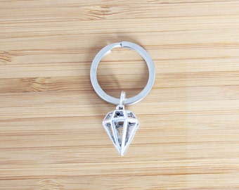 small keychain | diamond
