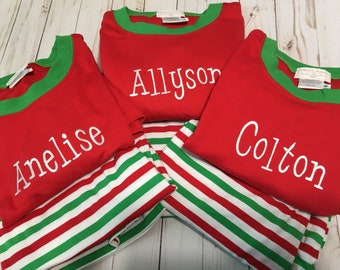 e8840a5d53 Personalized Ladies Christmas Pajamas Mens Christmas Pajamas