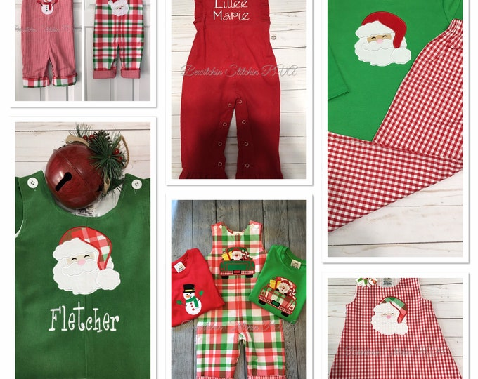 Toddler Reversible Longall Boys Reversible Pants and Tee Girls Reversible Jumper Personalized Christmas Sibling Outfits Custom