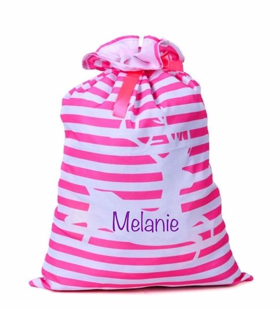 Santa Sack, Santa Bag, Personalized, Present Bag, Present Sack, Santa Delivery Bag, Christmas Gift, Christmas Present Sack, EMBROIDERED