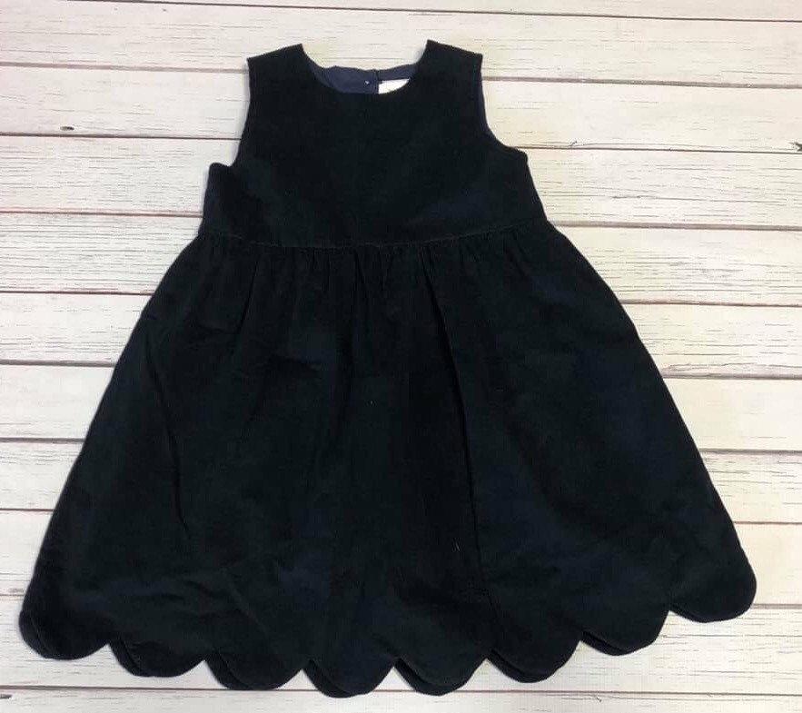 e2e1254e1 Monogrammed Corduroy Jumper Dress Corduroy Dress Navy Dress