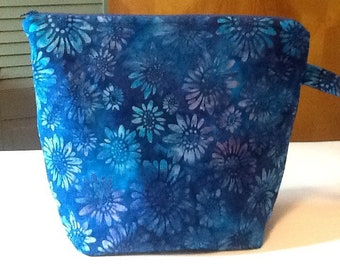 Blue and Aqua Batik