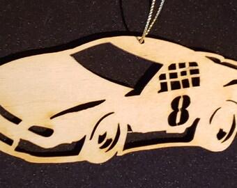 Personalized Midget Race Car Ornament Midget Race Car Gift Midget Race Car Ornaments Midget Racing Fan Gift