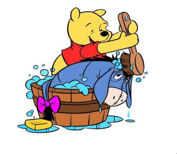 Winnie The Pooh Svg Disney Svg File Svg Cutting File Svg