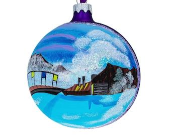 Iceland Ornament Etsy