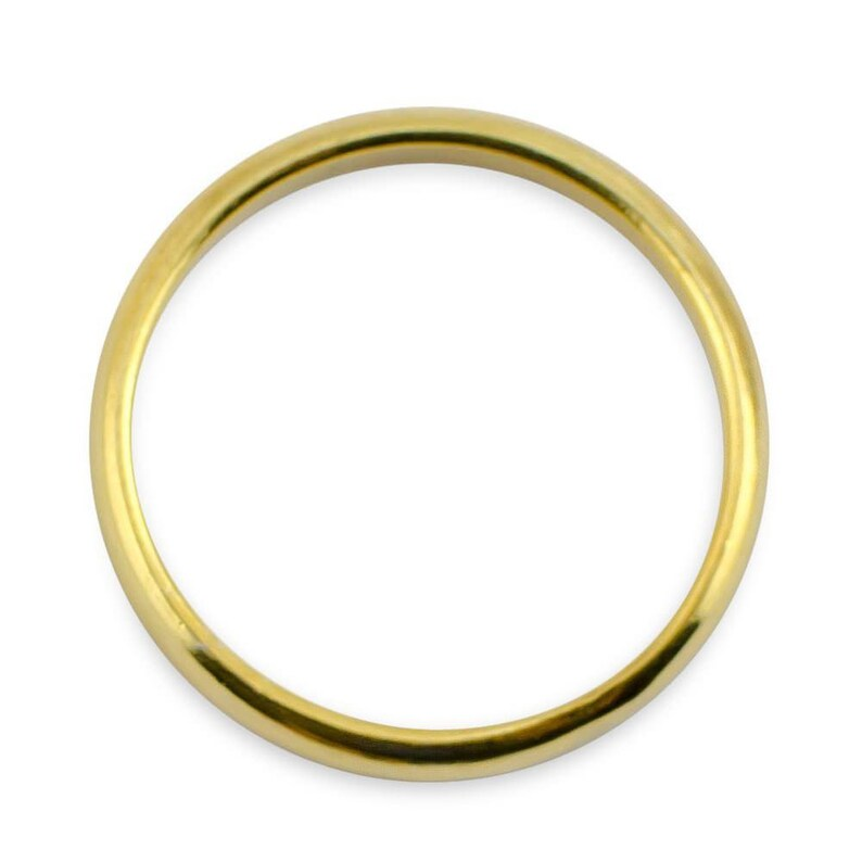 18k Gold Plated Sterling Silver Men/'s Ring Size 10