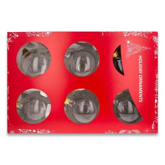 6 Corona De Navidad encantos Tono Plata Antigua CT39