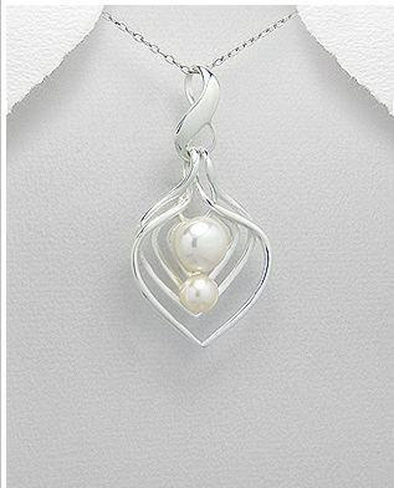 Fresh Water Pearl Sterling Silver Pendant