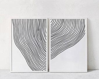 abstract art print etsy