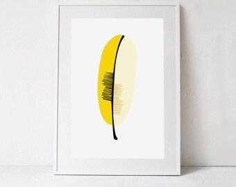 Yellow Art Print, Minimalist Wall Decor Yellow Digital Wall Art Download, Yellow Printable Art, Yellow Minimalist Digital Print Art 24x36