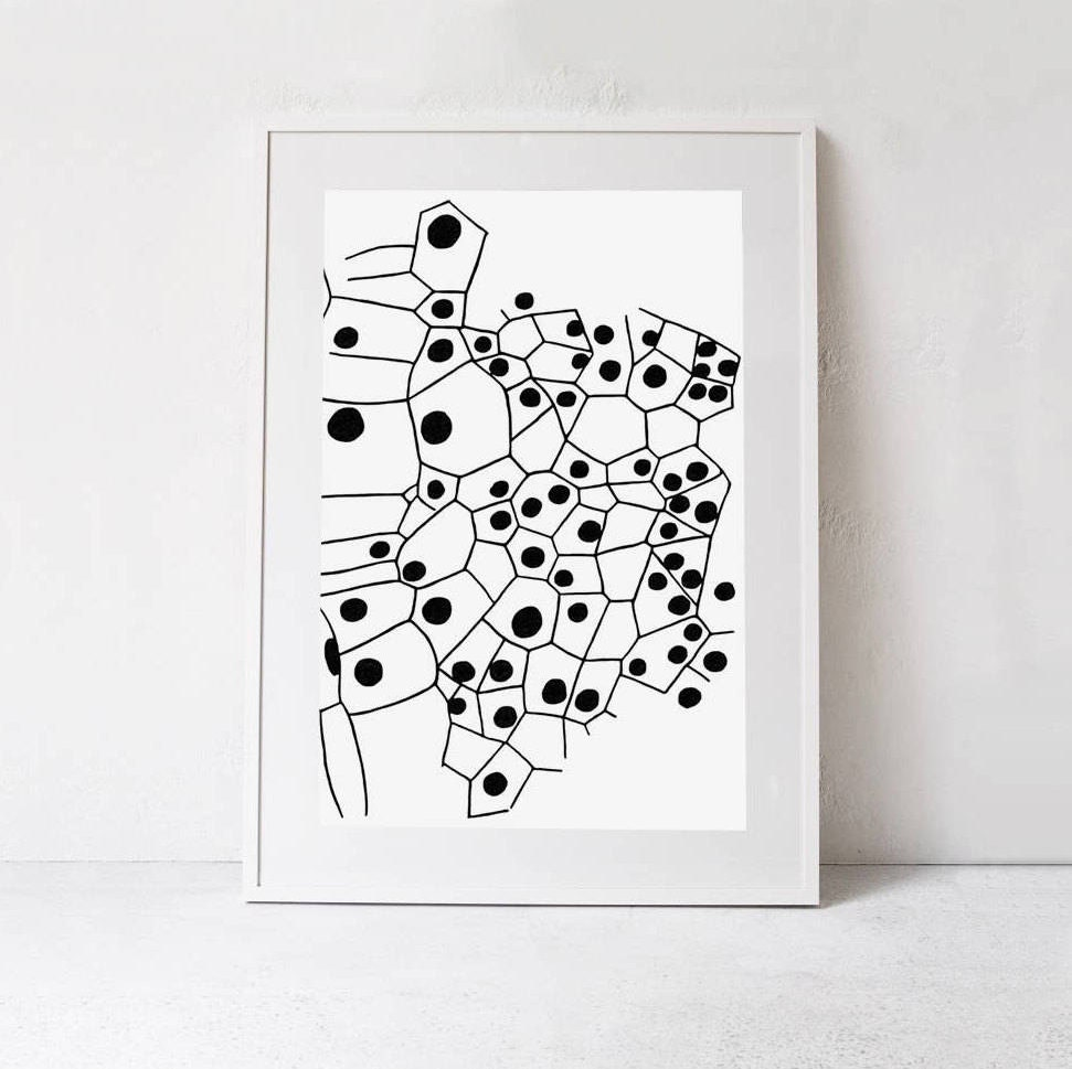 Scandi poster oversized print extra large abstract poster black and white print wall art abstract printable art downloadable print a0