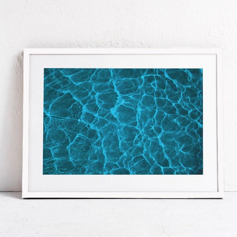 Wasser Druck-Wasser-Wand Kunst-Meer Druck-DIGITAL | Etsy
