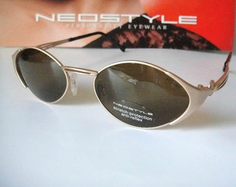 635ec5e7d6 Neostyle Mozart Germany RX able + case Jewelry Gold Eyeglass Frame  Sunglasses
