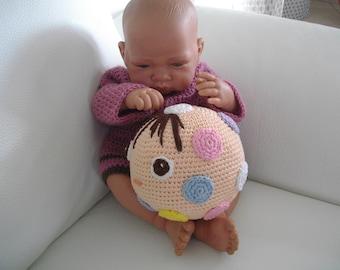 baby crochet toy crochet plush child amigurimi baby toy child gift child birthday baby
