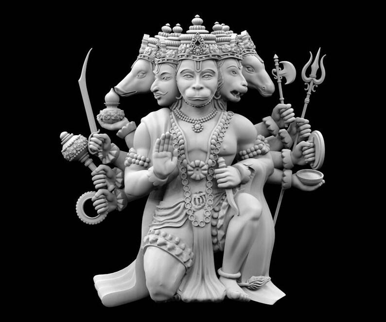 panchmukhi hanuman 3d