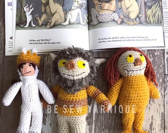 Inspired by Where the Wild Things Are plushie stuffed animal doll toy Photo Prop