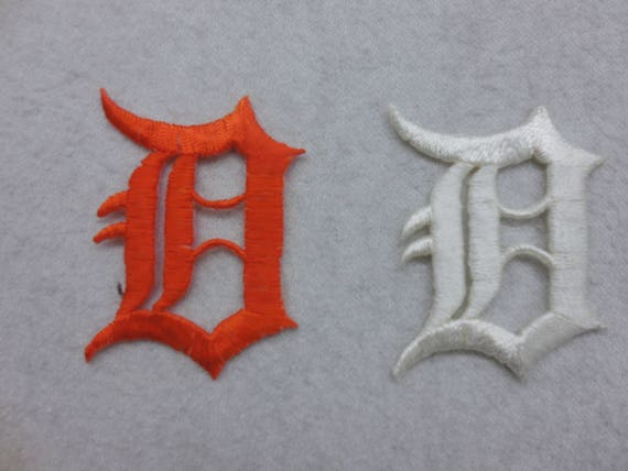 Patch Iron-On or Sew-On Detroit Tigers Logo Sport Baseball Applique