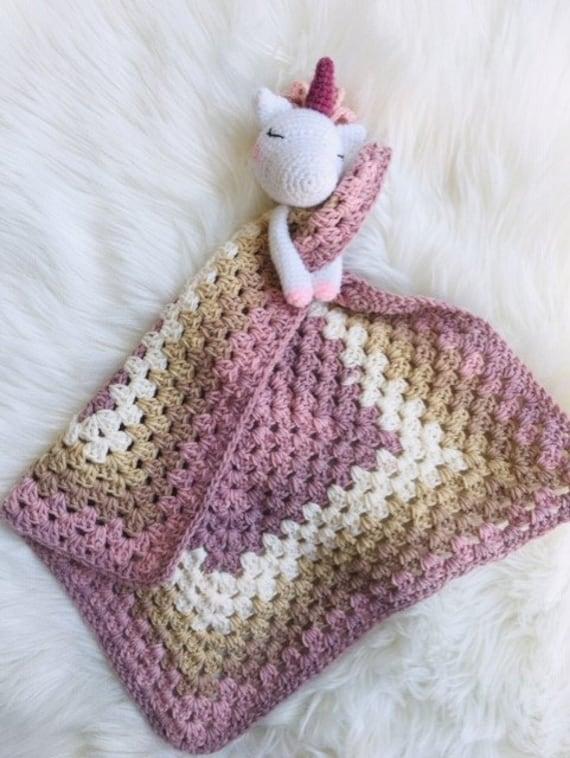 Patron Tutoriel Doudou Vintage Licorne Crochet Amigurumi