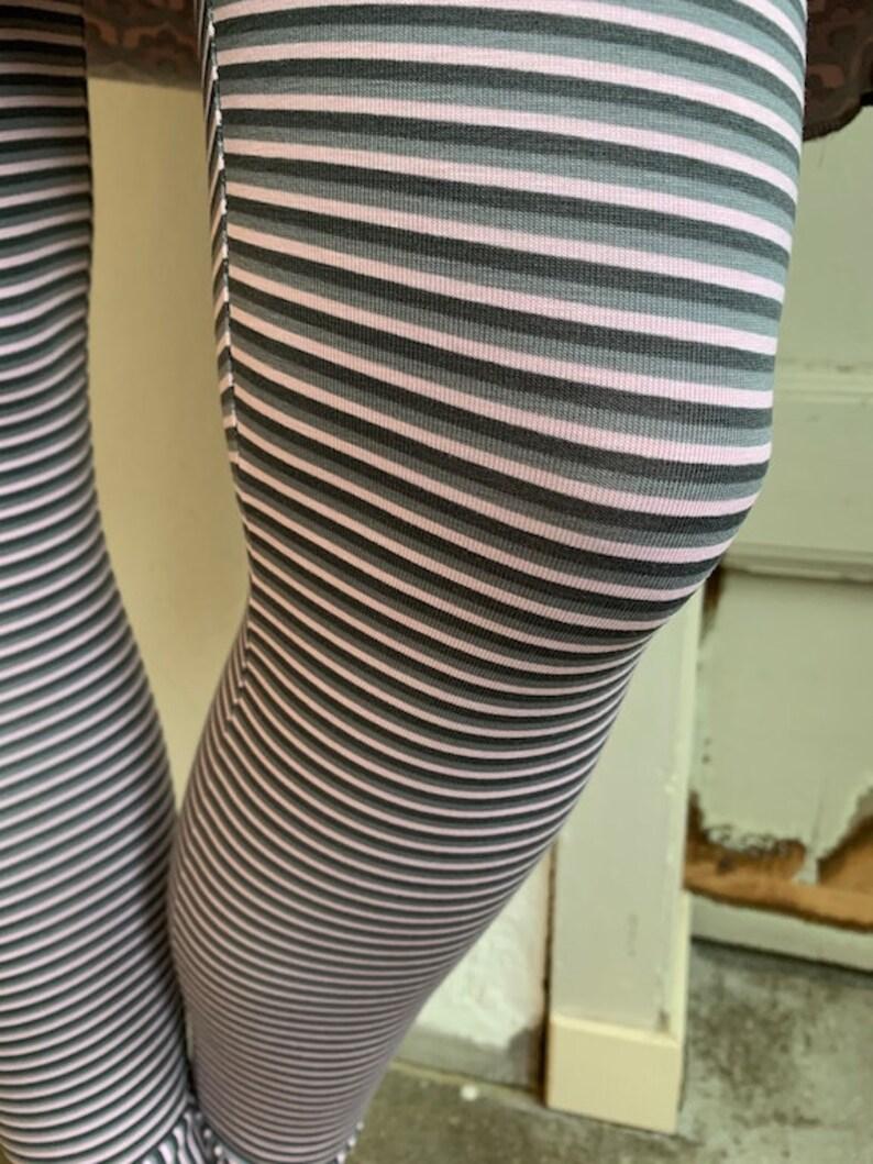 Froeken Frida Jersey Leggings greypink organic