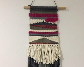 Weaving wall hanging