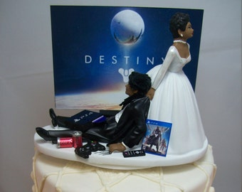 Interracial Cake Topper Etsy
