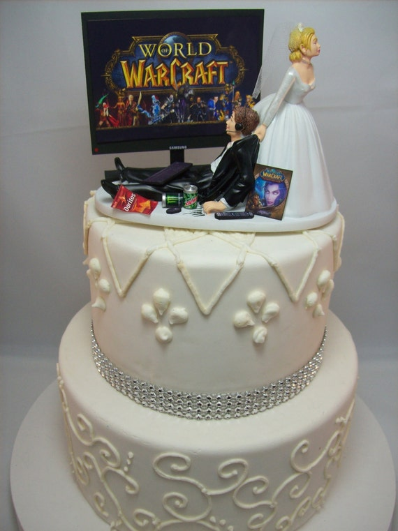World Of Warcraft Birthday Cake Toppers