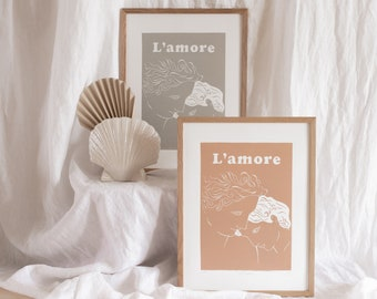 Logravure Love and Psyche - L'amore