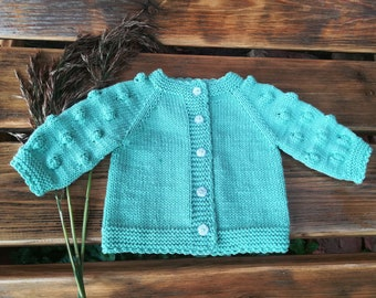a24bc1fb1 Popcorn knit sweater