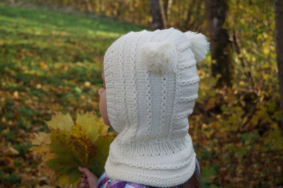 Kids balaclava. Knit Child Balaclava. Merino Wool Balaclava  9995aad7f96