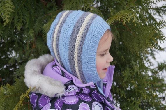 Kids balaclava. Knit Child Balaclava. Merino Wool Balaclava.  529b6f3f21d