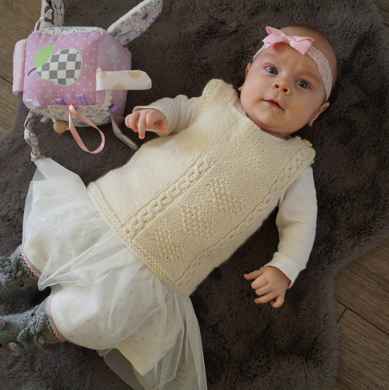 862620a0e Alpaca merino knitted vest.Knit baby toddler kids Vest.Hand