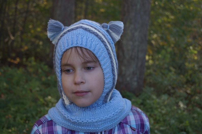 090ec0071b0 Kids balaclava. Knit Child Balaclava. Merino Wool Balaclava.