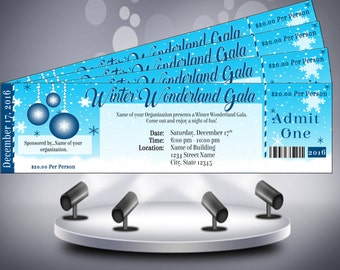 Winter Wonderland Gala Ticket