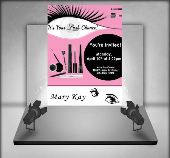 Mary Kay Flyer Template