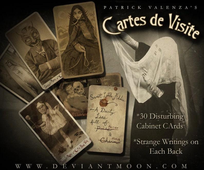 Cartes De Visite 30 DiSTuRBinG Cabinet Cards