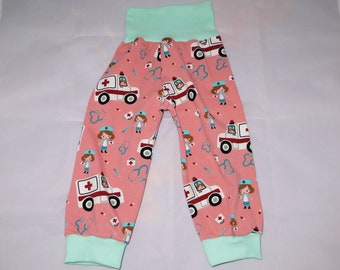 Pump Pants 86 92 Nurse Ambulance Pink