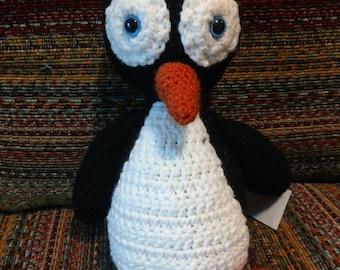 10'' Crochet Penguin Plush