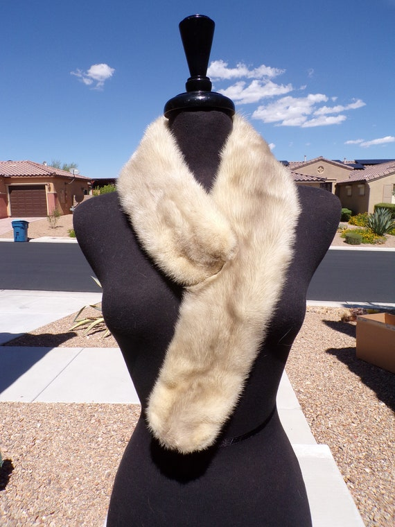"""35"""" real MINK FUR scarf scarves collar boa stole s"""