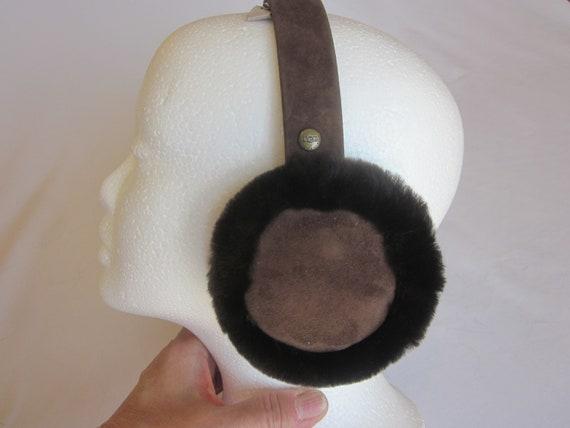 real fur earmuffs - womens fur earmuffs - SHEARLIN