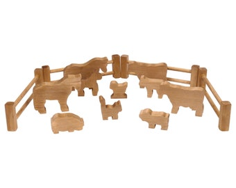 10pcs Farm Animals Fence Toys Military Fence Simulation Model Toy for Childre MO