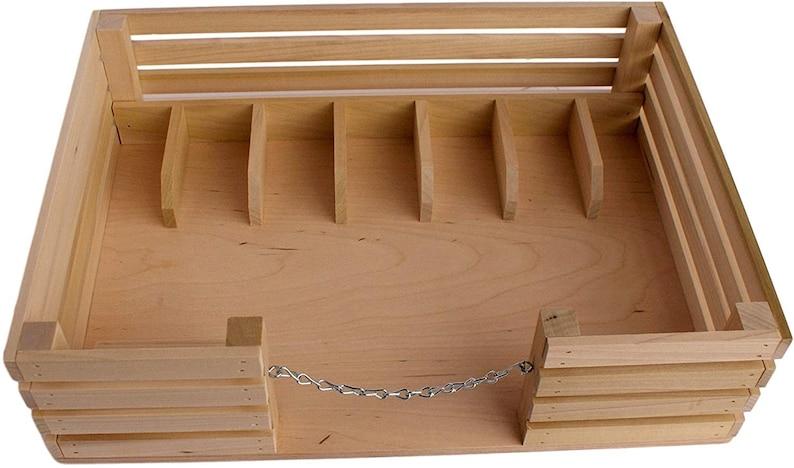 Amish-Made Toy Wooden Mini Stockyard