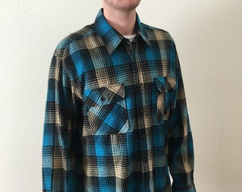 Sears and Roebuck vintage flannel